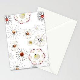Cocktail Fireworks Stationery Cards