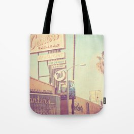 Los Angeles. Canters Deli photograph Tote Bag