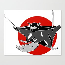 Flying (ninja) Squirrel Canvas Print