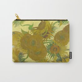Sunflowers (Vincent Van Gogh series) Carry-All Pouch