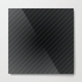 Carbon Fiber Metal Print