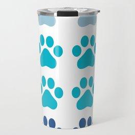 Huellas de gato Travel Mug