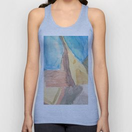 String Instruments and Books Unisex Tank Top