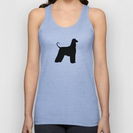 Afghan Hound Silhouette(s) Unisex Tank Top