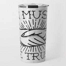 In Music We Trust Travel Mug