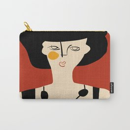 Girl in evening gown Carry-All Pouch