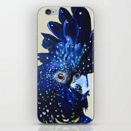 """Amelia"" The Red Tailed Cockatoo iPhone Skin"