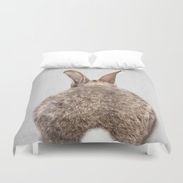 Rabbit Tail - Colorful Duvet Cover