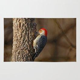 Red-Bellied Woodpecker Drumming Rug