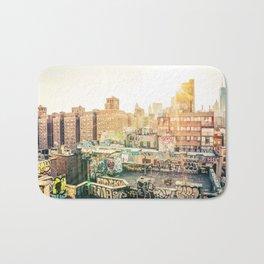 New York City Graffiti Bath Mat
