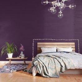 Fashionable shades of Aubergine Wallpaper