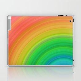 Bright Rainbow | Abstract gradient pattern Laptop & iPad Skin