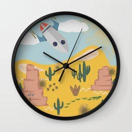 Crash Landing 51 Wall Clock