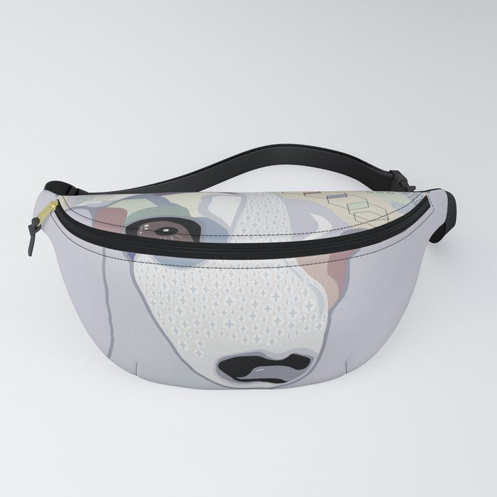 Whippet in Denim Colors Fanny Pack