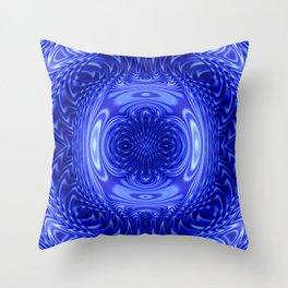Flow Blue Throw Pillow