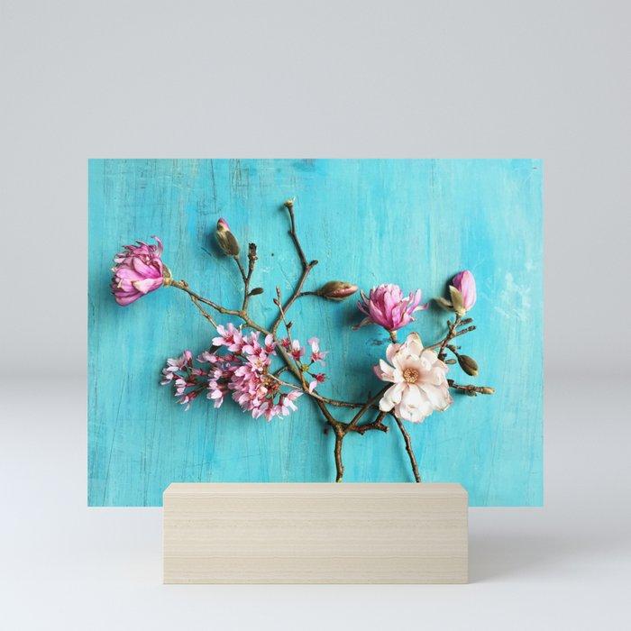 Flowers of Spring Mini Art Print