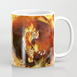 Chinese tiger painting  Coffee Mug
