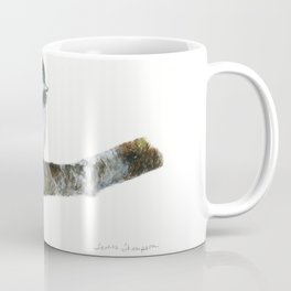 Black-capped Chickadee by Teresa Thompson Coffee Mug