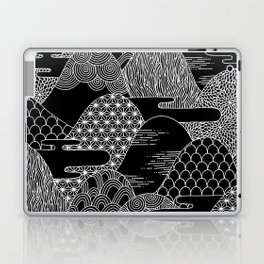 Cosmic Mountains Laptop & iPad Skin