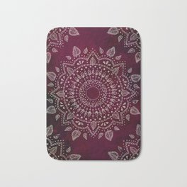 Wine Mandala Bath Mat