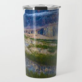 Highest Mountain in the Canadian Rockies; Mount Robson Travel Mug
