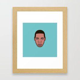 #7 Jayz Framed Art Print