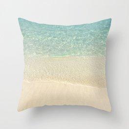 Beach Please! Throw Pillow