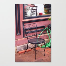 Jonesborough, Tennessee - Coffee Shop 2008 Canvas Print