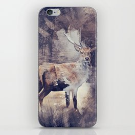 King of the Woods iPhone Skin