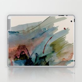 Begin again [2]: an abstract mixed media piece in a variety of colors Laptop & iPad Skin