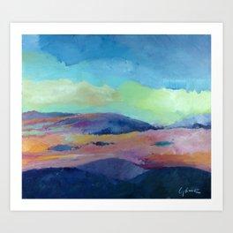 Sunset, Lara II. Art Print
