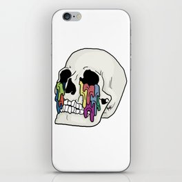 Self-Titled Inspired Skull iPhone Skin
