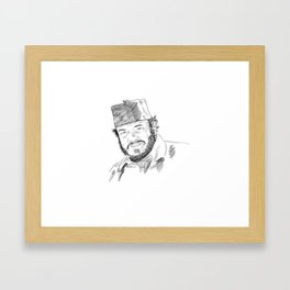 Sallah from Indiana Jones Framed Art Print