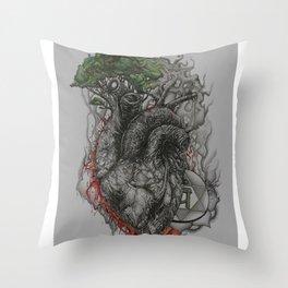 Ephemeral Eternity Throw Pillow