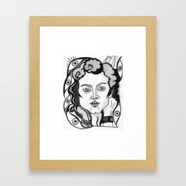 Final Girl: Ellen Ripley from Alien Framed Art Print