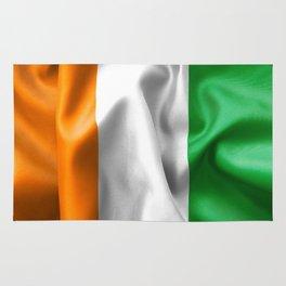 Ivory Coast Flag Rug