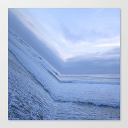 Surf's Up Sunset Point Canvas Print