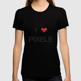 I heart Pixels T-shirt