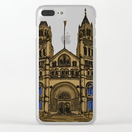 London Museum Clear iPhone Case
