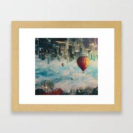 Passing By Framed Art Print