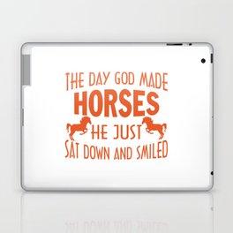 GOD MADE HORSES Laptop & iPad Skin