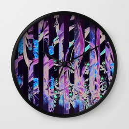 Flowr_01 Wall Clock