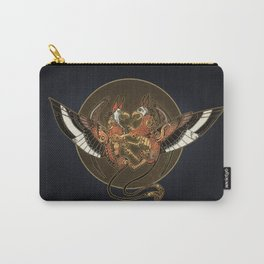 Griffin Crest Carry-All Pouch
