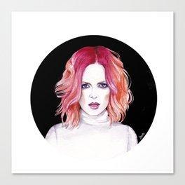 Shirley Manson (Garbage) Canvas Print