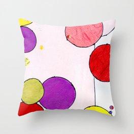 Circling around Throw Pillow