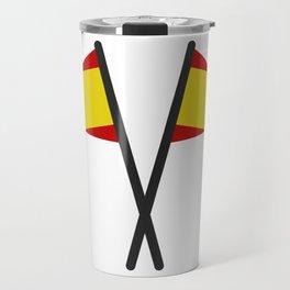 spain flag Travel Mug