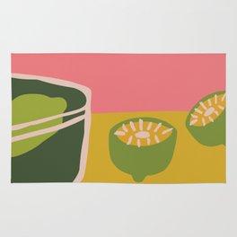 fresh lemons Rug