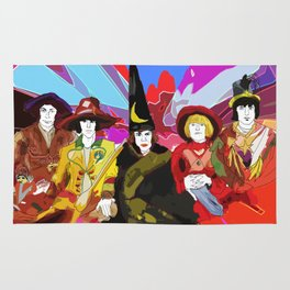 The Rolling Magicians Rug