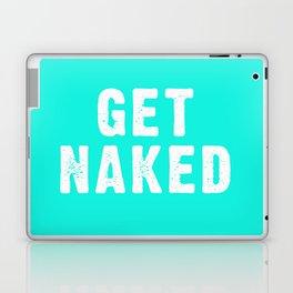 Get Naked - Aqua Laptop & iPad Skin