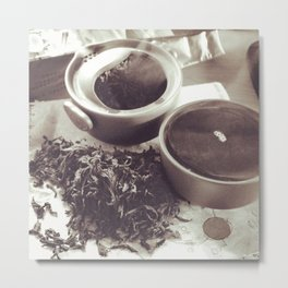 Chinese tea Metal Print